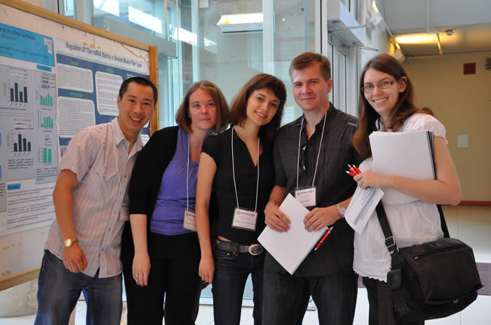 photo of attendees and presenters in Lassonde Building
