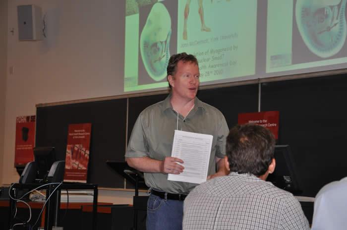 Michael Connor speaking