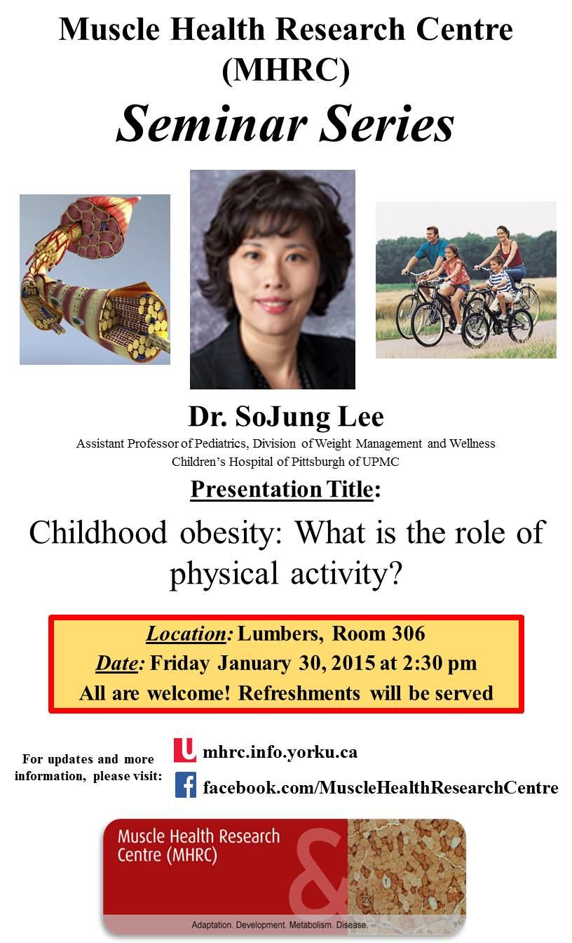 MHRC Speaker Seminar - Dr. SoJung Lee @ 306 Lumbers | Toronto | Ontario | Canada