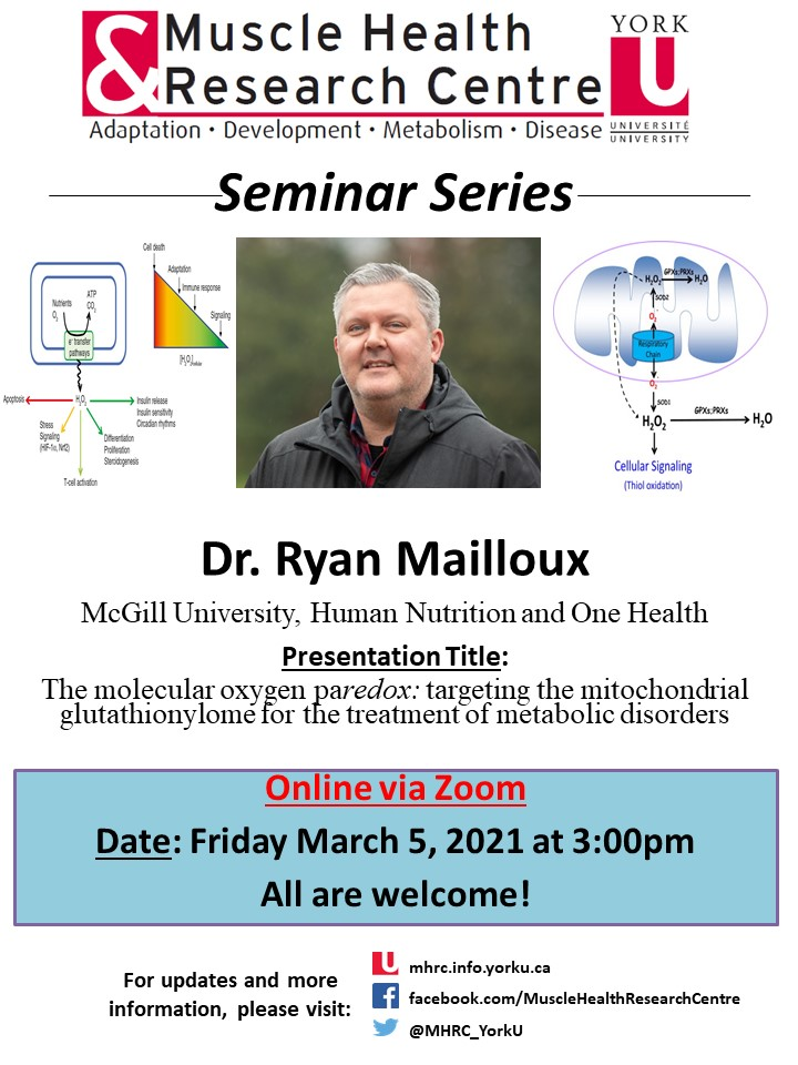 MHRC Seminar with Dr. Mailloux @ Online via Zoom
