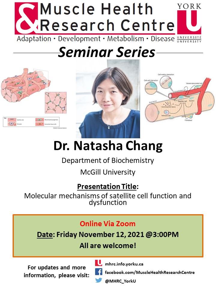 MHRC Seminar Series with Dr. Natasha Chang @ Zoom